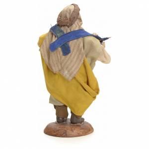 Neapolitan Nativity figurine, umbrella seller, 18 cm s3