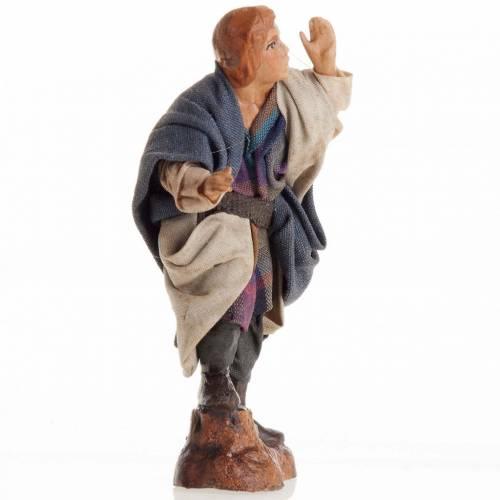 Neapolitan Nativity figurine, Young man 8cm s2