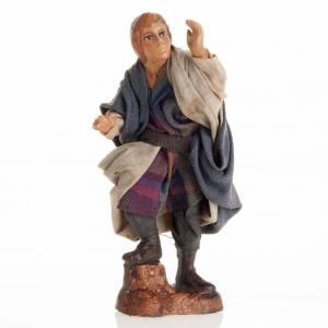 Neapolitan Nativity figurine, Young man 8cm s1