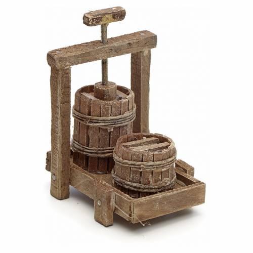 Neapolitan Nativity scene accessory, cheese press s1