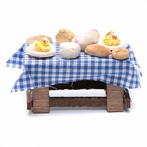 Neapolitan Nativity Scene: Neapolitan nativity scene accessory laid table 10 cm