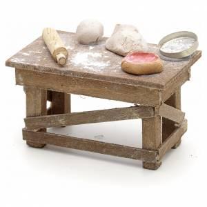 Neapolitan Nativity Scene: Neapolitan Nativity scene accessory, pizza table