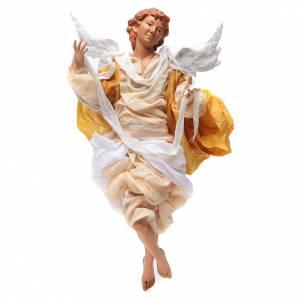 Ángel Rubio 45 cm vestido amarillo belén Nápoles s1
