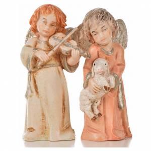 Ángeles 8 pz. Fontanini 7.5 cm. símil porcelana s4
