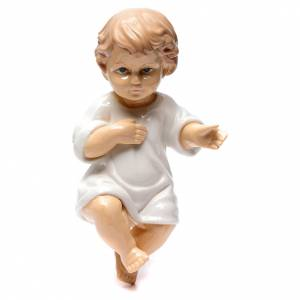 Estatuas del Niño Jesús: Niño Jesús cerámica lúcida 25 cm