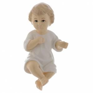 Estatuas del Niño Jesús: Niño Jesús cerámica lustrosa 17 cm