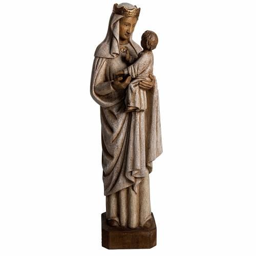 Notre Dame de Pontoise 62,5 cm bois Bethléem s1
