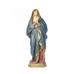 Notre Dame des Douleurs 120 cm pâte à bois vieillie s1