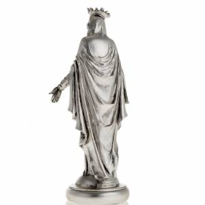 Notre Dame du Liban resina color metallo 16 cm s3