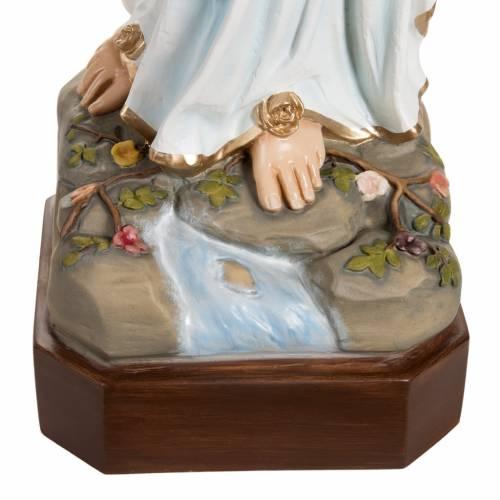 Nuestra Señora de Lourdes 130 cm en fibra de vidrio s2