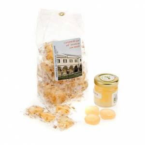 Sweets and candies: Orange jelly sweets from Finalpia abbey