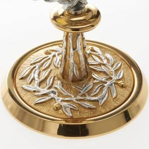 Ostensoirs, Reliquaires  en métal: Ostensoir avec couronne en laurier