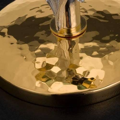 Ostensoir laiton lys diam. 8.5 cm s4