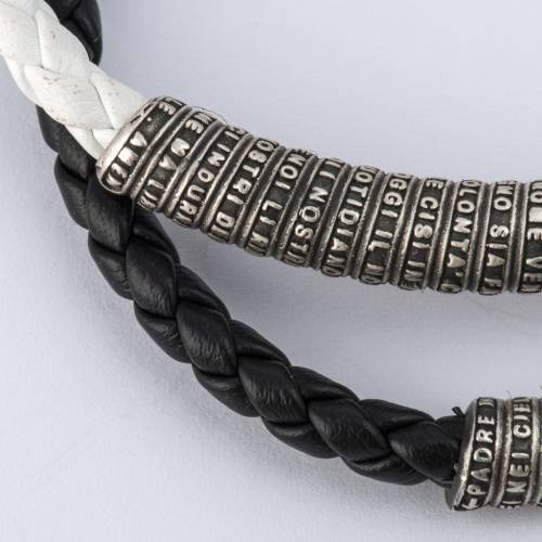 Our Father bracelet in leather s4