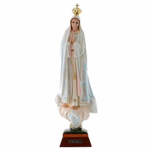 Our Lady of Fatima with Doves, resin made statue s1