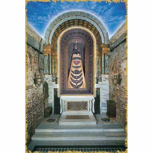 Our Lady of Loreto, altar holy card s1
