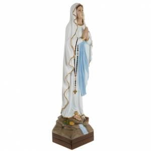Our Lady of Lourdes, fiberglass statue, 70 cm s6