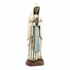 Stone statues: Our Lady of Lourdes