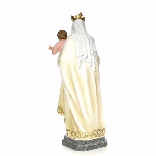 Our Lady of Mount Carmel wood paste 100cm, fine finish s3