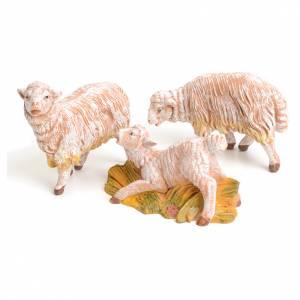 Animales para el pesebre: Ovejas 3 piezas 15 cm Fontanini