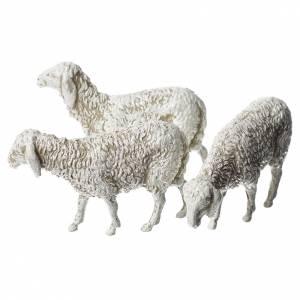 Ovejas, 6 pdz, para belén de Moranduzzo con estatuas de 8 cm s3