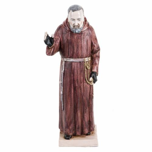Padre Pio 30 cm. Fontanini similar porcelana s1