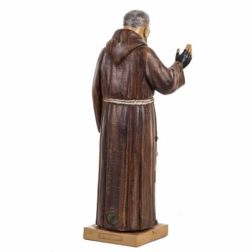 Padre Pio 30 cm Fontanini tipo legno s4