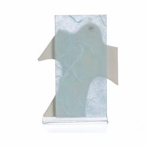 Painting Cross Maternity and Birth light blue 11,5x8cm s2