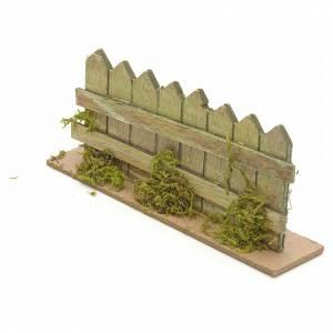 Ponts, ruisseaux, palissades pour crèche: Palissade en miniature pour crèche cm 15x3