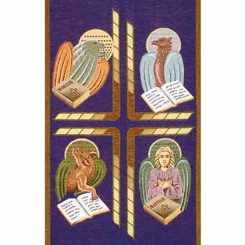 Paño de atril 4 evangelistas- fondo varios colores s2