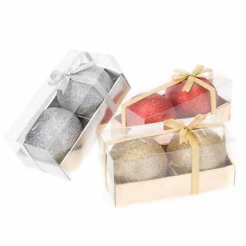 Pareja velas navideñas glitter 1