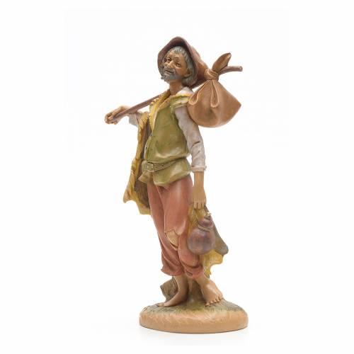 Pastor con fardo 30 cm Fontanini s2
