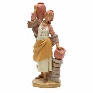 Pastora con jarras 19cm Fontanini s1