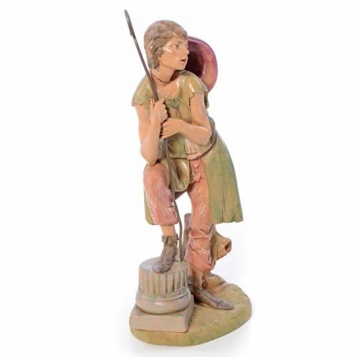 Pastore con bastone 30 cm Fontanini s4
