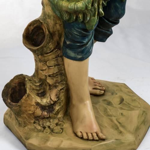 Pastore con pecora 125 cm presepe Fontanini s3