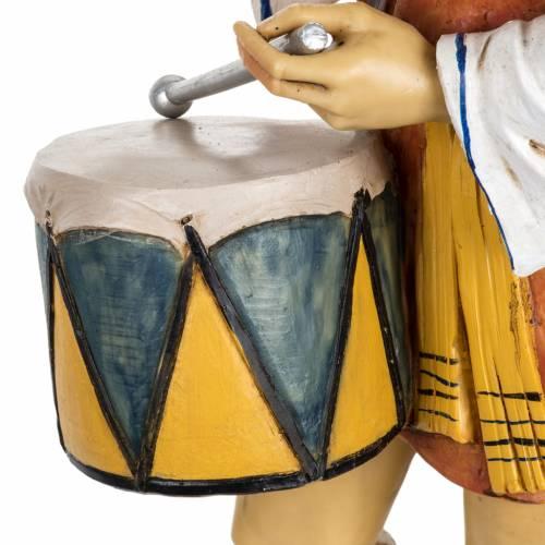 Pastore con tamburo 65 cm Fontanini resina s4