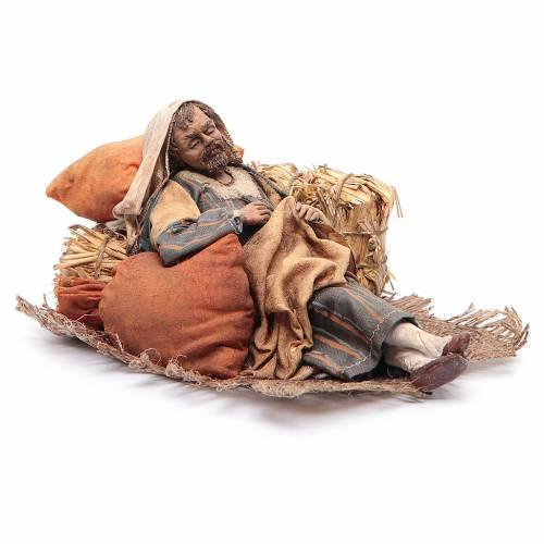 Pastore dormiente seduto 18 cm Angela Tripi s3