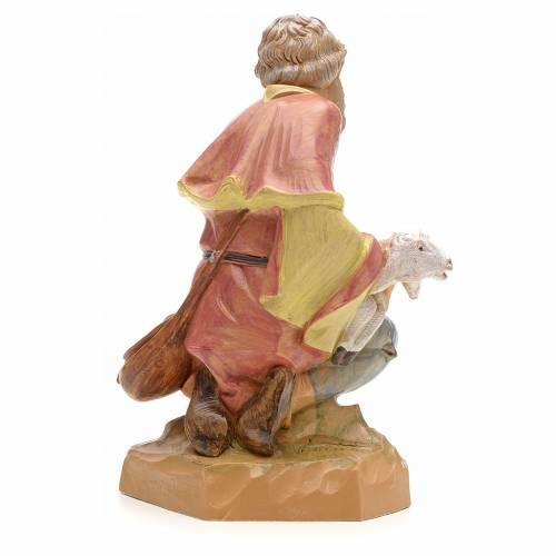 Pastore in ginocchio 19 cm Fontanini s2