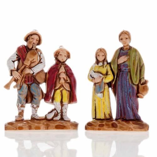 Pastori doppi 6 pz. 3 cm Moranduzzo s4