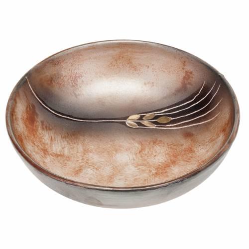 Patena ceramica diam cm 16 pompei s1