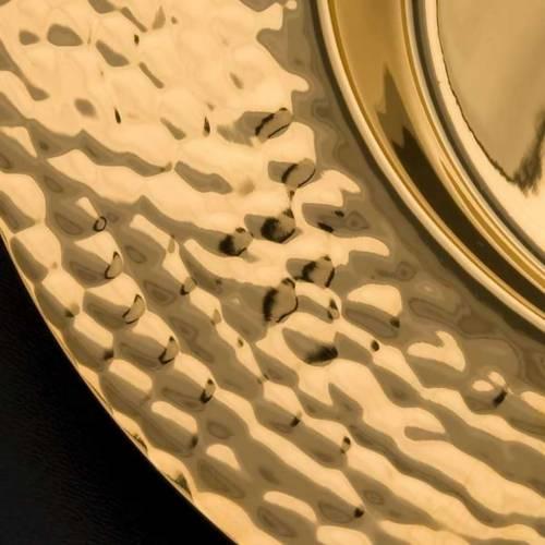Patène laiton doré s3