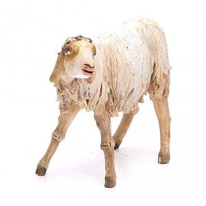 Pecora a riposo 18 cm Angela Tripi terracotta s4