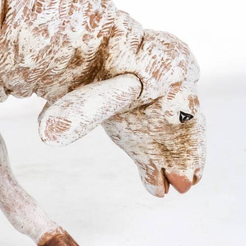 Pecora in piedi Fontanini 65 cm resina s3