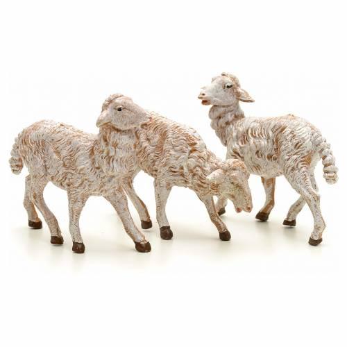 Pecore presepe 19 cm Fontanini 3 pz s1