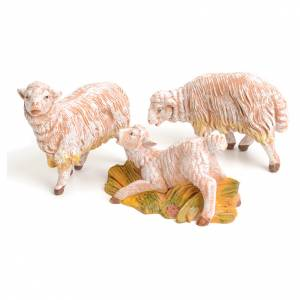 Animali presepe: Pecore set 3 pezzi 15 cm Fontanini