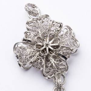 Pectoral Cross in silver 800 filigree s3