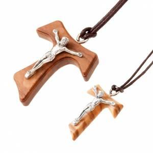Pendentif tau: Pendentif croix tau en métal