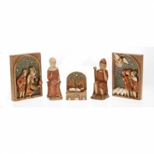 Pesebre Monasterio de Belén: Pesebre de Otoño de madera pintada
