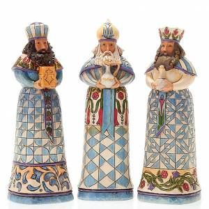 Pesebre resina 13,5 cmMini Blue Nativity s5