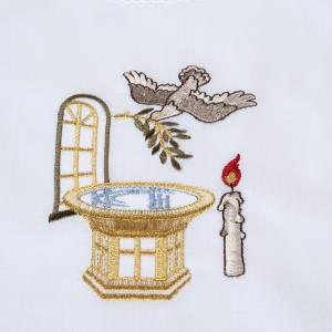 Petite camisole pour baptême,font baptismal s2